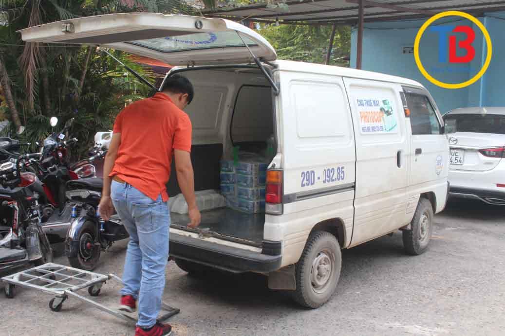 xe Cho thuê máy photocopy tại Hà Nam