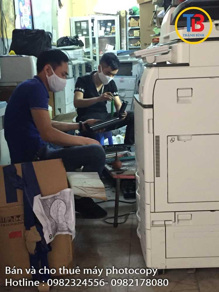 Thanh Bình đổ mực máy in chuyên nghiệp, giá rẻ tại Hà Nội