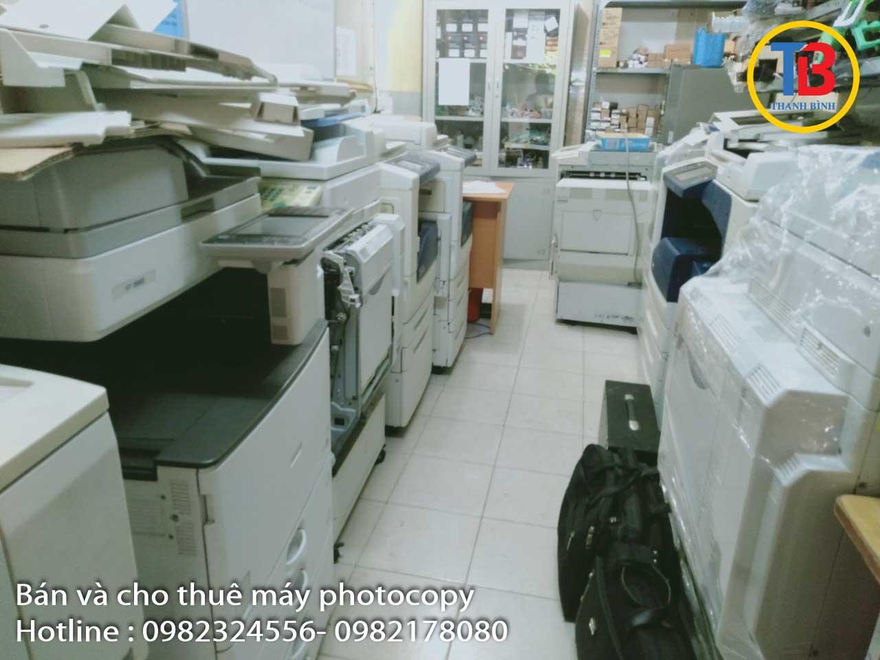 Thu mua máy in, máy photocopy cũ giá tốt tại Hà Nội