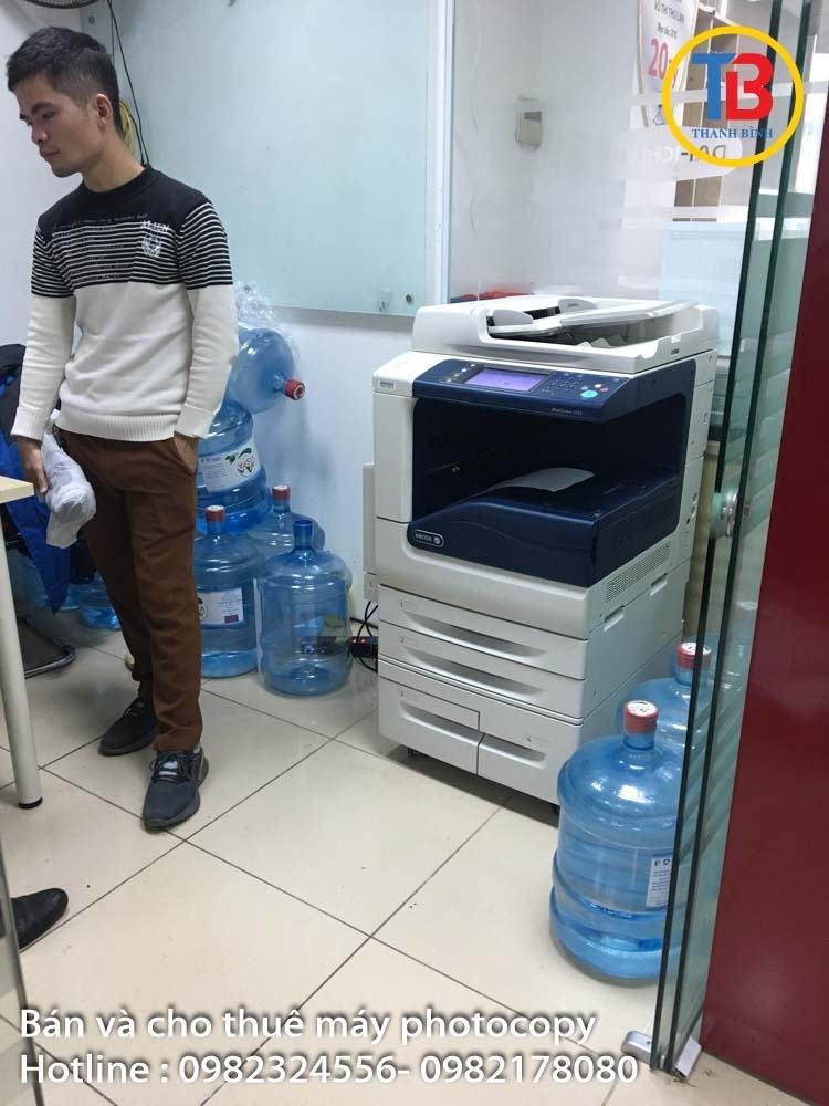 Cho thuê máy photocopy mới giá rẻ tại Hà Nội