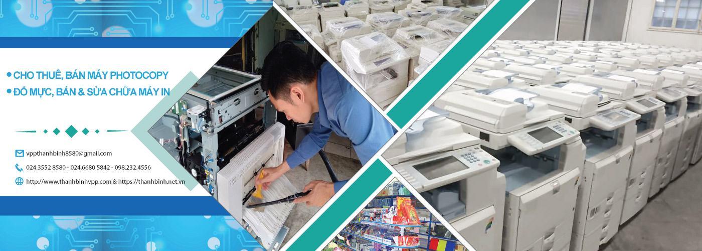 Công ty chuyên cho thuê Máy Photocopy VPP Thanh Bình