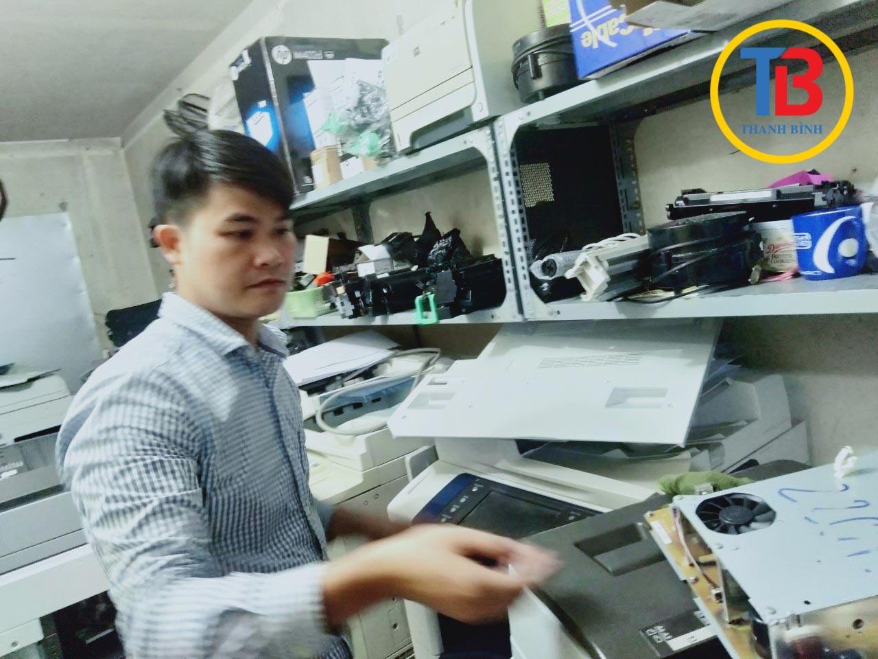 Cho thuê máy photocopy fuji xerox tại Bắc Ninh, Hải Dương, thay mực bán link kiện