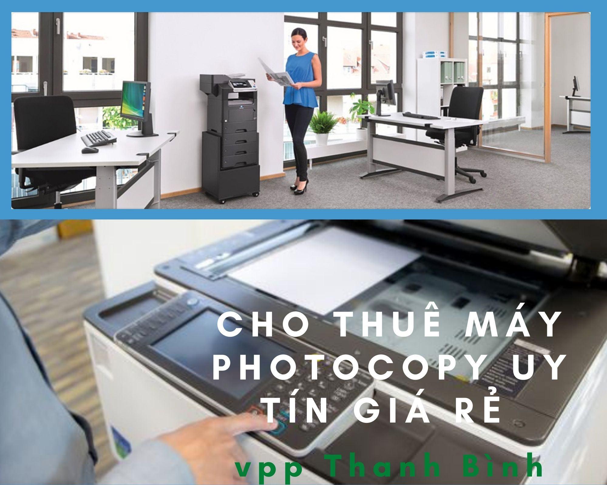 Cho thuê máy photocopy là gì ?