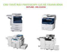 Địa chỉ cho thuê máy photocopy tại khu vực Hà Nội và các tỉnh lân cận giá rẻ, uy tín, chất lượng