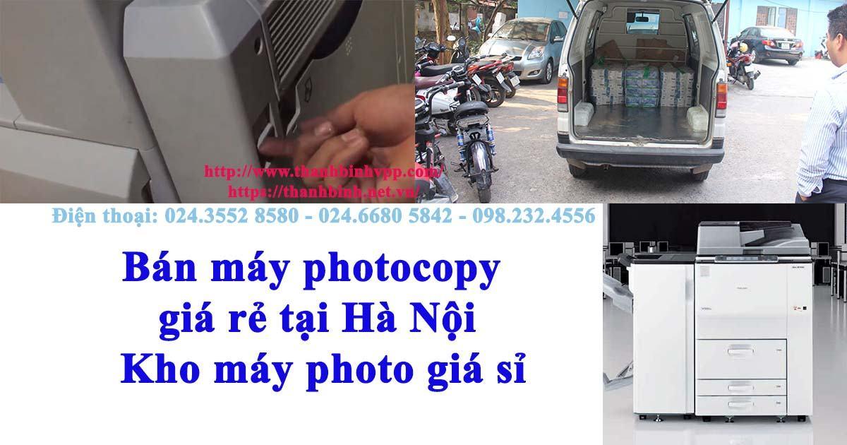 Bán máy photocopy giá rẻ tại Hà Nội - Kho máy photocopy giá sỉ