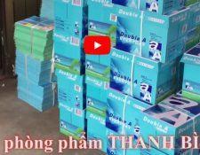 Video Bán văn phòng phẩm giá rẻ - chính hãng tại Hà Nội, Đổ mực máy in, cho thuê máy photo