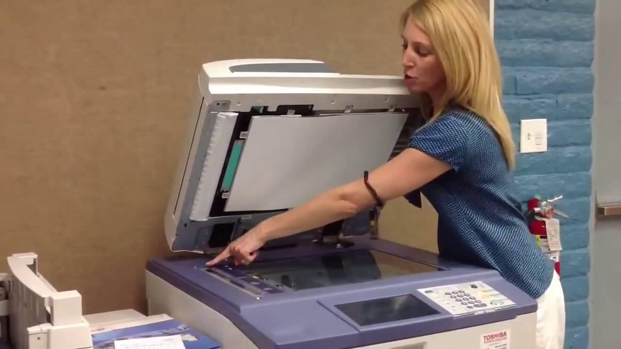 Các bước cơ bản sử dụng máy photocopy