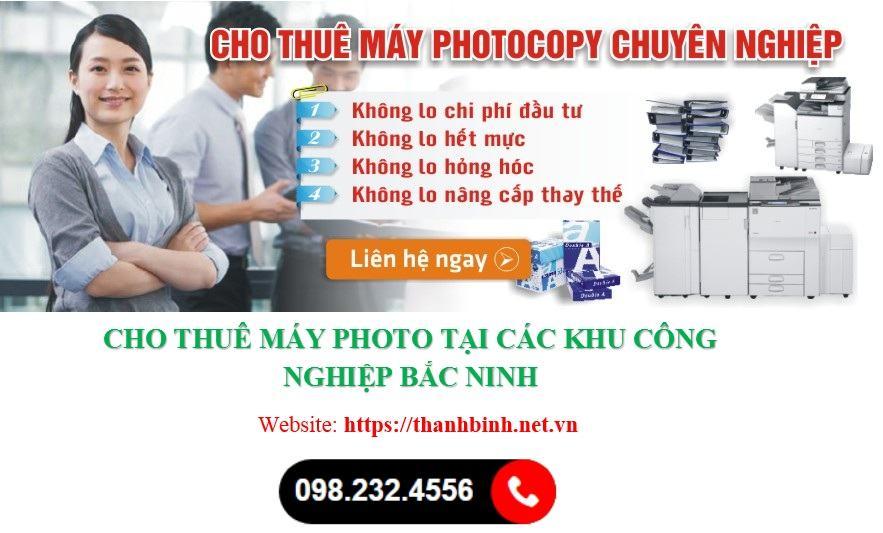 Dịch vụ cho thê may photo tại Bắc Ninh