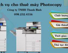 Dịch vụ cho thuê máy photocopy tại các khu công nghiệp
