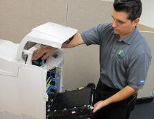 Hướng dẫn vệ sinh cho máy photocopy chỉ qua 4 bước